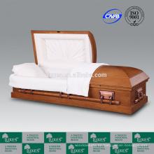 LUXES chapa roble ataúdes fúnebre ataúd paseo-R