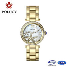 China Wholesale Stainless Steel Watch Quartz Water Resistant Girls Watch