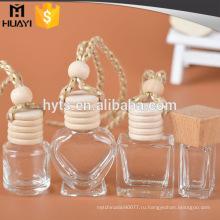 5 мл/8 мл/10 мл пустой деревянная крышка автомобиля освежитель воздуха стеклянная бутылка для продажи