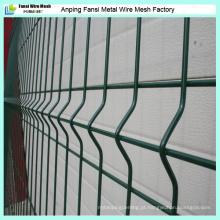 High Quality Metal Wire Mesh Fence com pó verde revestido