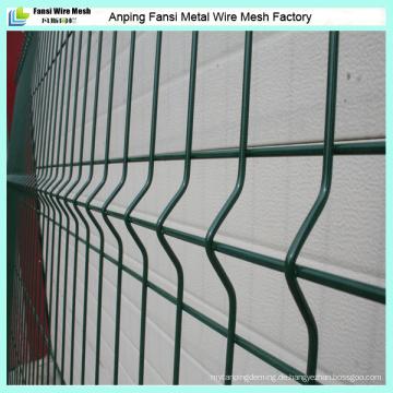 Hochwertiger Metalldraht-Mesh-Zaun mit grünem Puder beschichtet