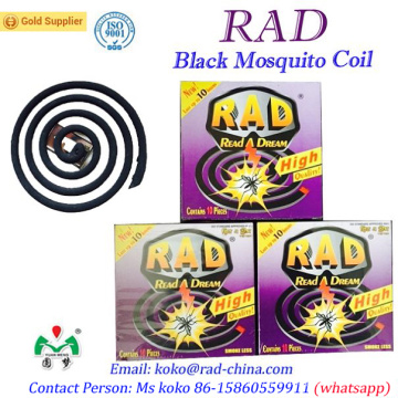 130mm 140mm Rad Factory Brand Mosquito Coil Repellent Killer China Supper OEM