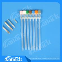 Ce ISO Aprobado 18-27g Aguja Espinal Quincke Tip Tipos