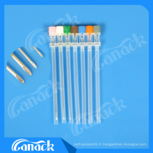 Ce ISO approuvé 18-27g Spinal Needle Quincke Tip Tip