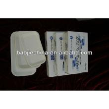 bandeja desechable de instrumentos dentales de plástico