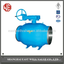 Directional valve hydraulic fully welded ball valve