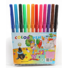 Hot Selling 12 PCS Felt Tip Water Color Pen Set