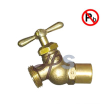 NSF approved low lead Brass Drain Hose Valve brass sillcock