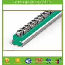 Guía de nylon para diapositivas Mejor que el material de UHMWPE