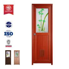 A prueba de fuego discolor dura china top diez venta de productos Puerta de madera compuesto de plástico de entrada