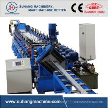 Machines de fabrication de profilés en Z en acier certifiés sur mesure