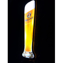 Paulaner LED Flaschen Display 4C Siebdruck