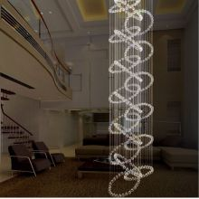 elegant led chandelier restaurant pendant light
