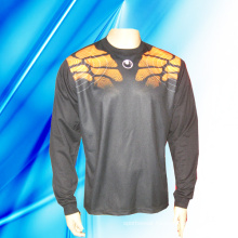 100% Polyester Man′s Long Sleeve Goal Keeper Jersey