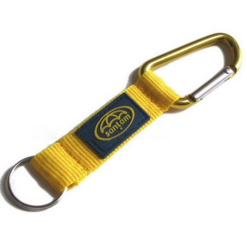 Carabiner Key Chain with Engraved Logo
