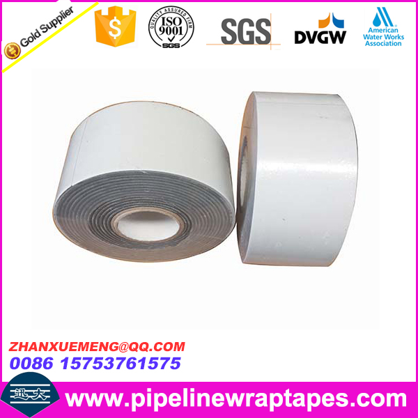 Butyl Rubber Pipeline Outer Protection Wrap Tape For Oil Gas Water Pipe
