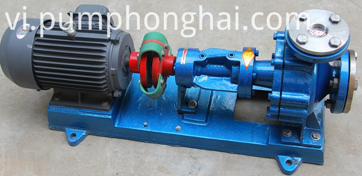 thermal oil circulation pump