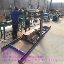Grande taille essence bois tronçonneuse Machine pour couper du bois
