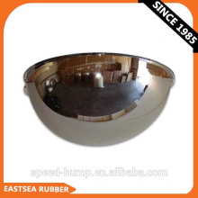 China 180-Grad-Ansicht Unbreakable Half Dome Polycarbonat Convex Mirror