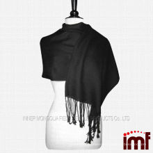 100% Lady's Plain Thick Wool Scarf