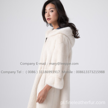 Kopenhagen Winter Velvet Mink Coat Women