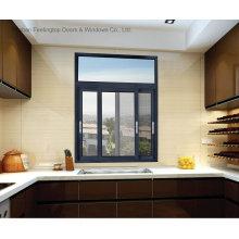 Feelingtop окно Покрынное порошком алюминиевое сползая (фут-W85)