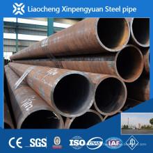 Tuyau en acier au carbone noir par mètre / tonne en Chine