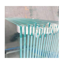 12mm 15mm low iron extra clear tempered toughened polished glass for architectural deck railing