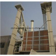 El elevador de cangilones para la línea de producción de mortero seco