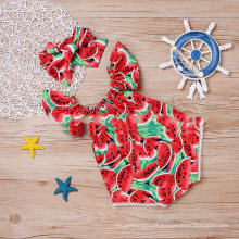 Children′s Clothing Hot Selling Baby Watermelon Pattern One Pieces Jumpsuit Summer