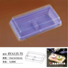Rectangle Plastic Cake Packaging Box