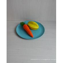 (BC-P1021) Естественная Bamboo Fiber Biodegradable Tableware Plate