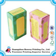 Benutzerdefinierte Lackierung umweltfreundliche handgemachte Seife Verpackung Box