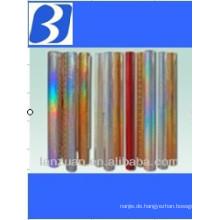 Laser-Hologramm-Folie für Zigaretten und Wein-Pakete
