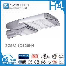 Luz de rua 120W super brilhante de alta qualidade do diodo emissor de luz