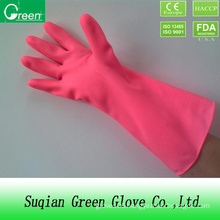 Clear Cheap PVC Washing Glove