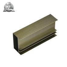 Profil des matériaux de fabrication des fenêtres en aluminium à rupture de pont thermique