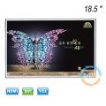 Nouvel écran LCD sans cadre de 18,5 pouces à cadre ouvert avec entrée HDMI VGA DVI