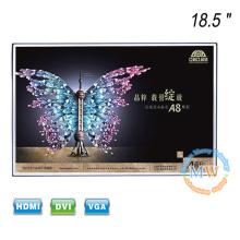 Nuevo monitor LCD sin marco de 18,5 pulgadas con marco abierto y entrada HDMI VGA DVI