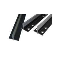 hollow guide rail accessories with rail panels