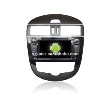 HOT! Carro dvd com espelho link / DVR / TPMS / OBD2 para 7 polegada tela de toque completo 4.4 Android sistema TIDDA