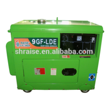7KW с воздушным охлаждением тихий дизель-генератор