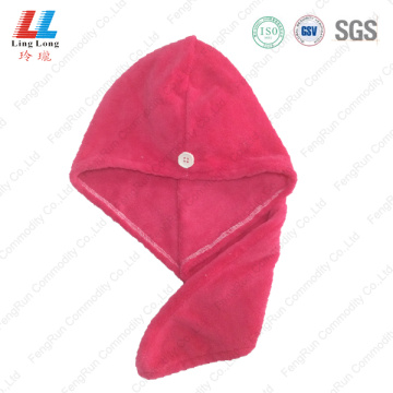 Charming smooth microfiber hair dry towel