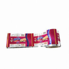 Biscuit Packaging Film with HACCP, FDA and SGS Marks