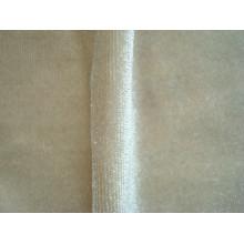 Tissu en tricot moleskin de velours coréen