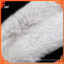 Tanned Blue Fox Fur Skin