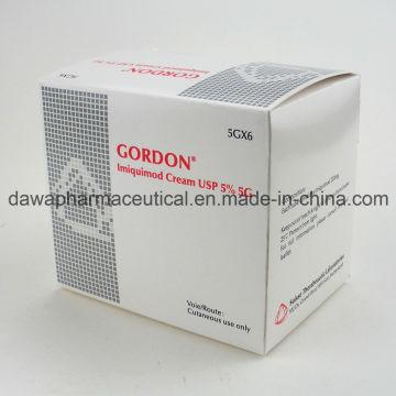 Medicamentos para el cuidado de la piel con la crema de Imiquimod buen efecto