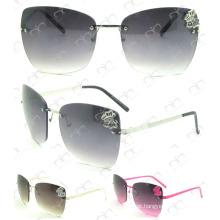 Óculos de sol moda e venda quente com saco (ms30304)
