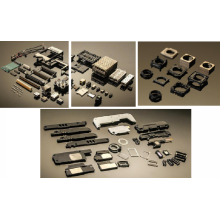 Moldes de injeção de produtos plásticos acústicos e ópticos