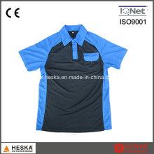 Mens personnalisée manches courtes col col Polo Shirt
